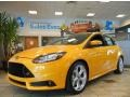 2013 Tangerine Scream Tri-Coat Ford Focus ST Hatchback #70617796