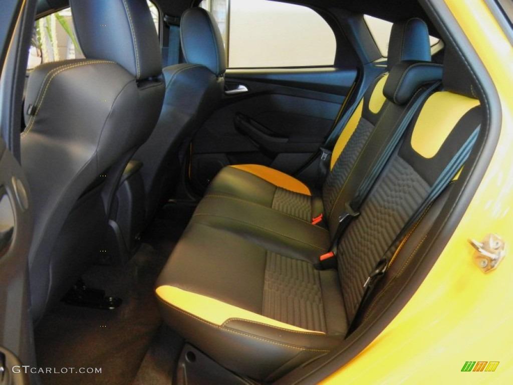 st tangerine scream recaro seats interior 2013 ford focus st hatchback photo 70632313. Black Bedroom Furniture Sets. Home Design Ideas