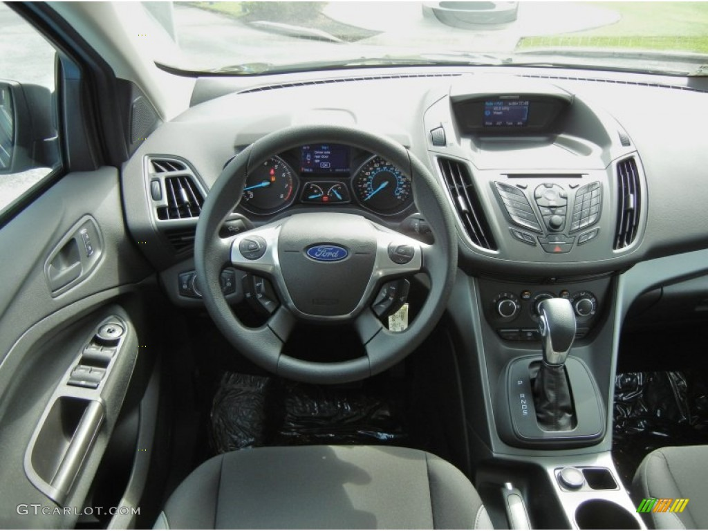 2013 Ford Escape S Charcoal Black Dashboard Photo 70633054 Gtcarlot Com