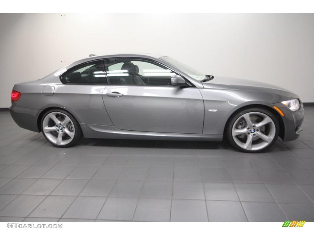 Space Gray Metallic 2013 BMW 3 Series 335i Coupe Exterior