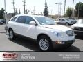 2009 White Opal Buick Enclave CXL AWD  photo #1