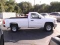 2012 Summit White Chevrolet Silverado 1500 LT Regular Cab 4x4  photo #7