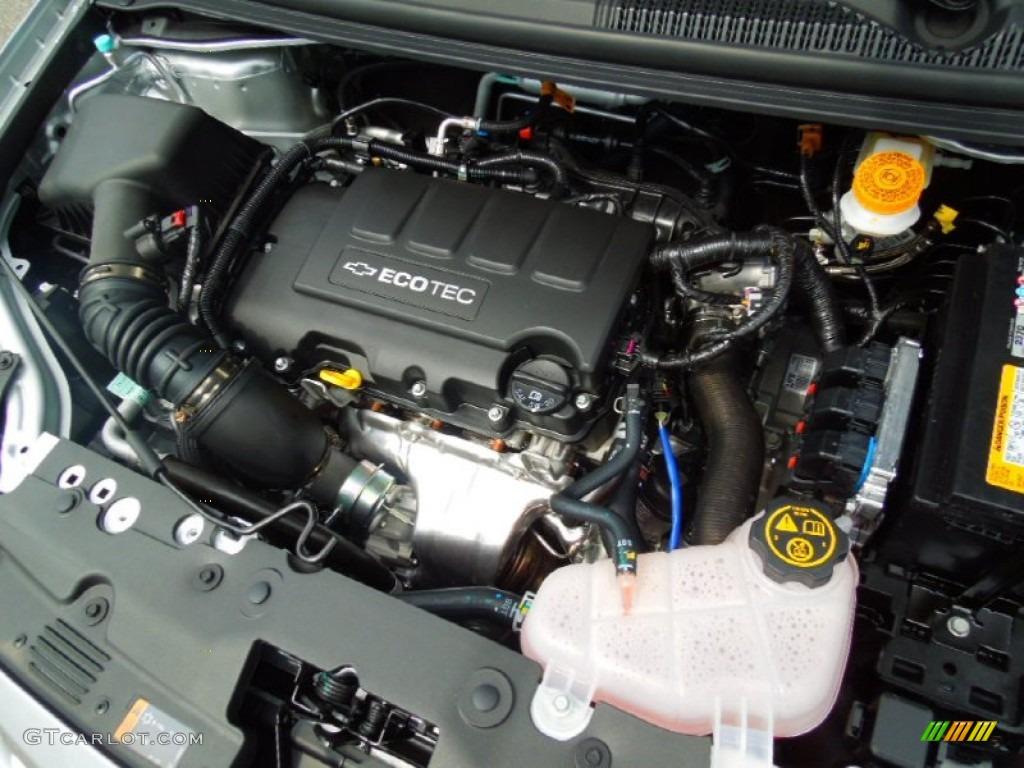 2013 Chevrolet Sonic LT Hatch 1.4 Liter DI Turbocharged DOHC 16-Valve ...