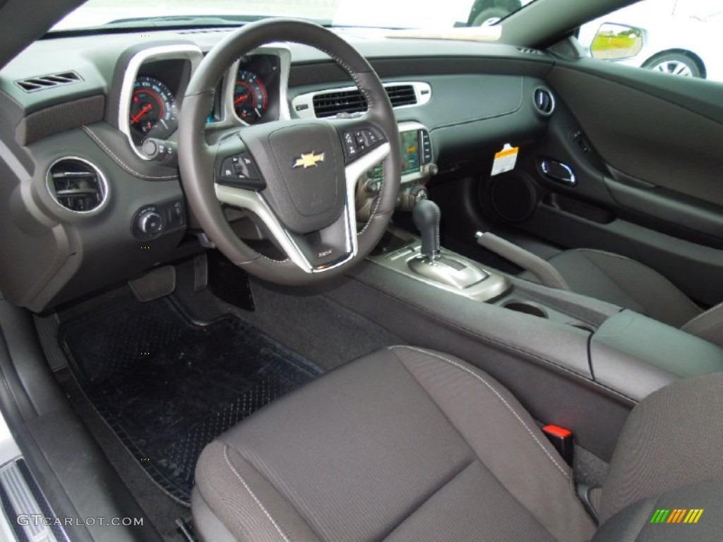 Black Interior 2013 Chevrolet Camaro Ss Coupe Photo 70673336