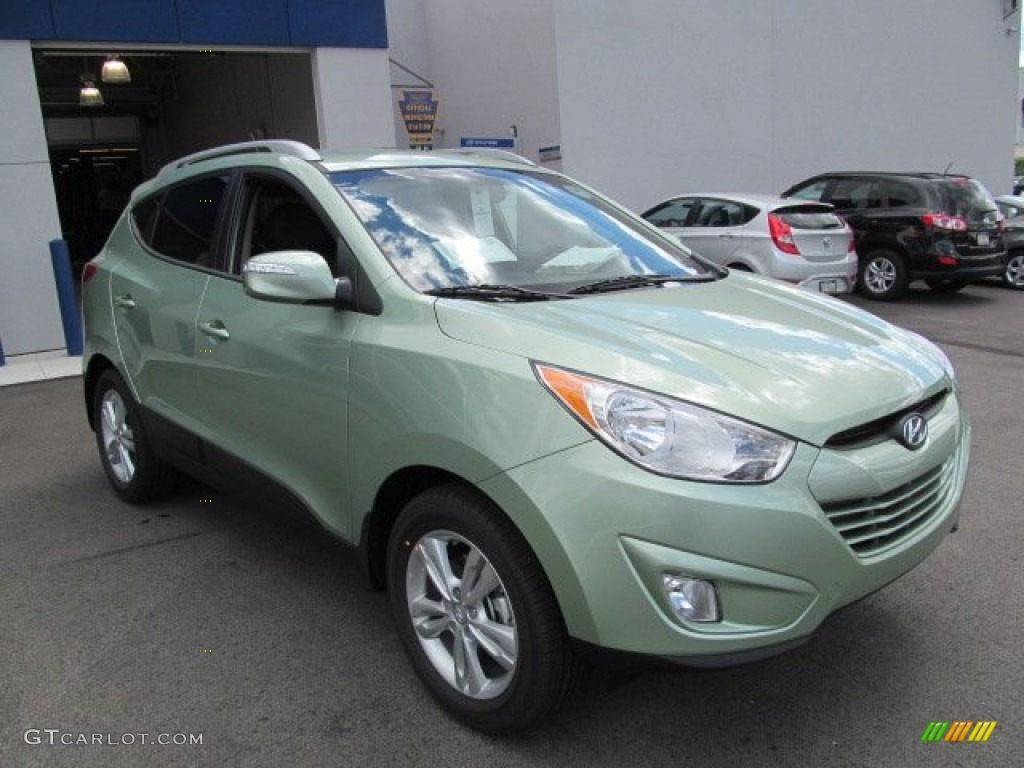 2013 Kiwi Green Hyundai Tucson Gls Awd 70617559 Photo 3