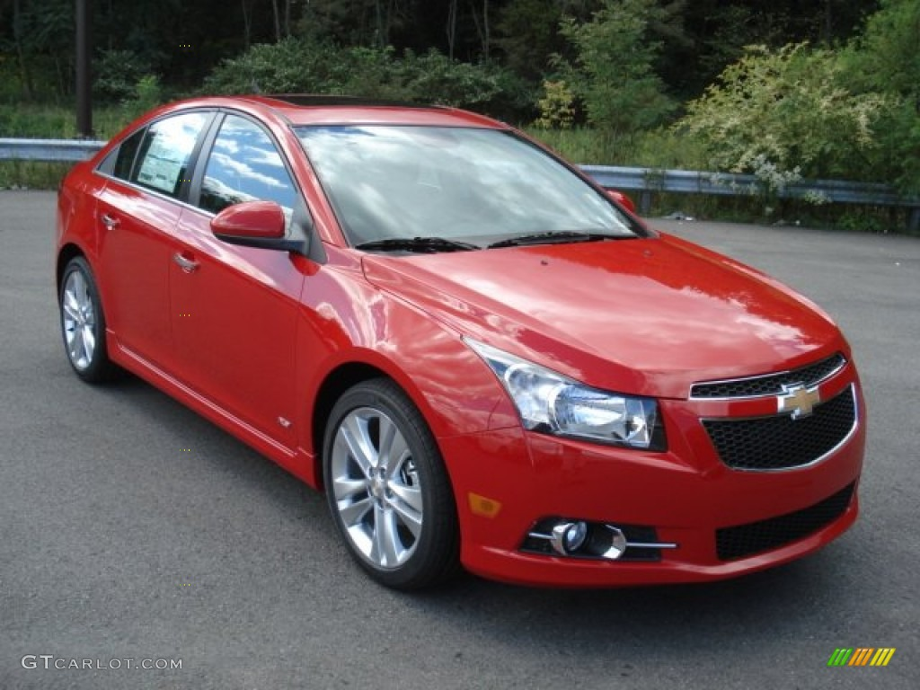 2013 Victory Red Chevrolet Cruze Ltz Rs 70617925 Photo 2 Gtcarlot Com Car Color Galleries