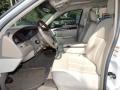 2005 Lincoln Town Car Light Parchment/Medium Dark Parchment Interior Front Seat Photo