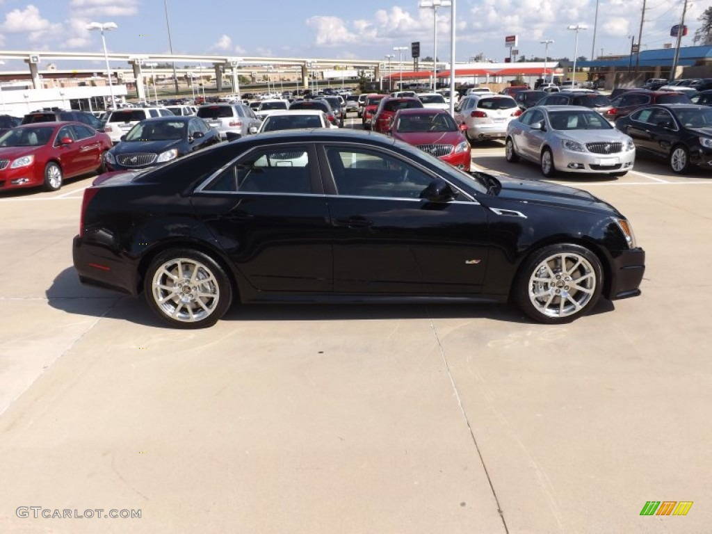 Black Raven 2013 Cadillac CTS V Sedan Exterior Photo 70700672