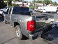 2011 Steel Green Metallic Chevrolet Silverado 1500 LS Extended Cab 4x4  photo #10