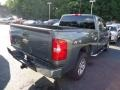 2011 Steel Green Metallic Chevrolet Silverado 1500 LS Extended Cab 4x4  photo #13