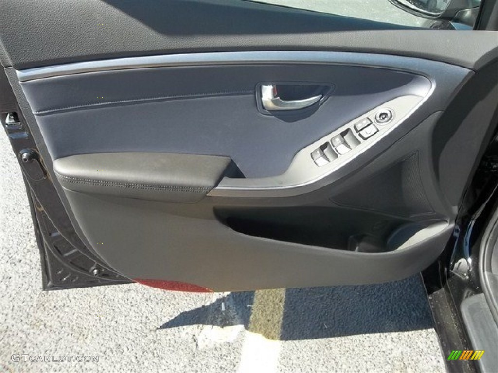 2013 Hyundai Elantra Gt Black Door Panel Photo 70707041