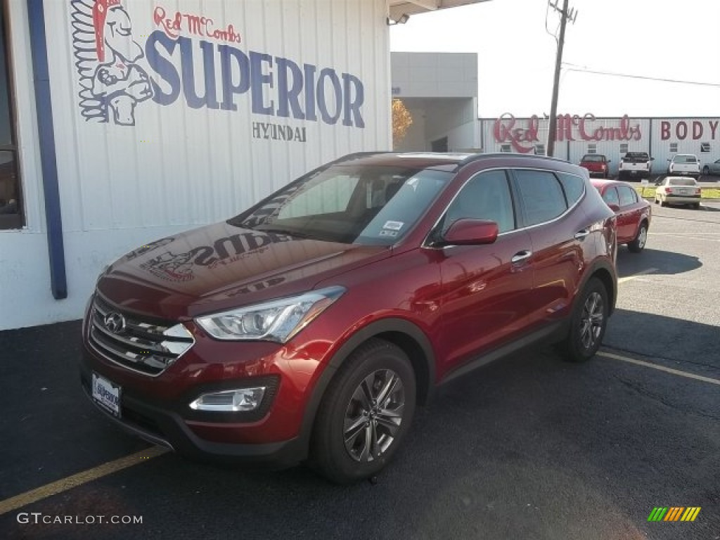 2013 serrano red hyundai santa fe sport 70687249 photo 3 car color galleries. Black Bedroom Furniture Sets. Home Design Ideas