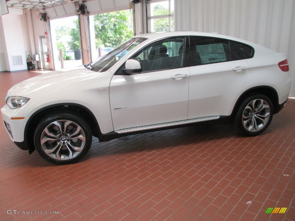 alpine white 2013 bmw x6 xdrive50i exterior photo. Black Bedroom Furniture Sets. Home Design Ideas