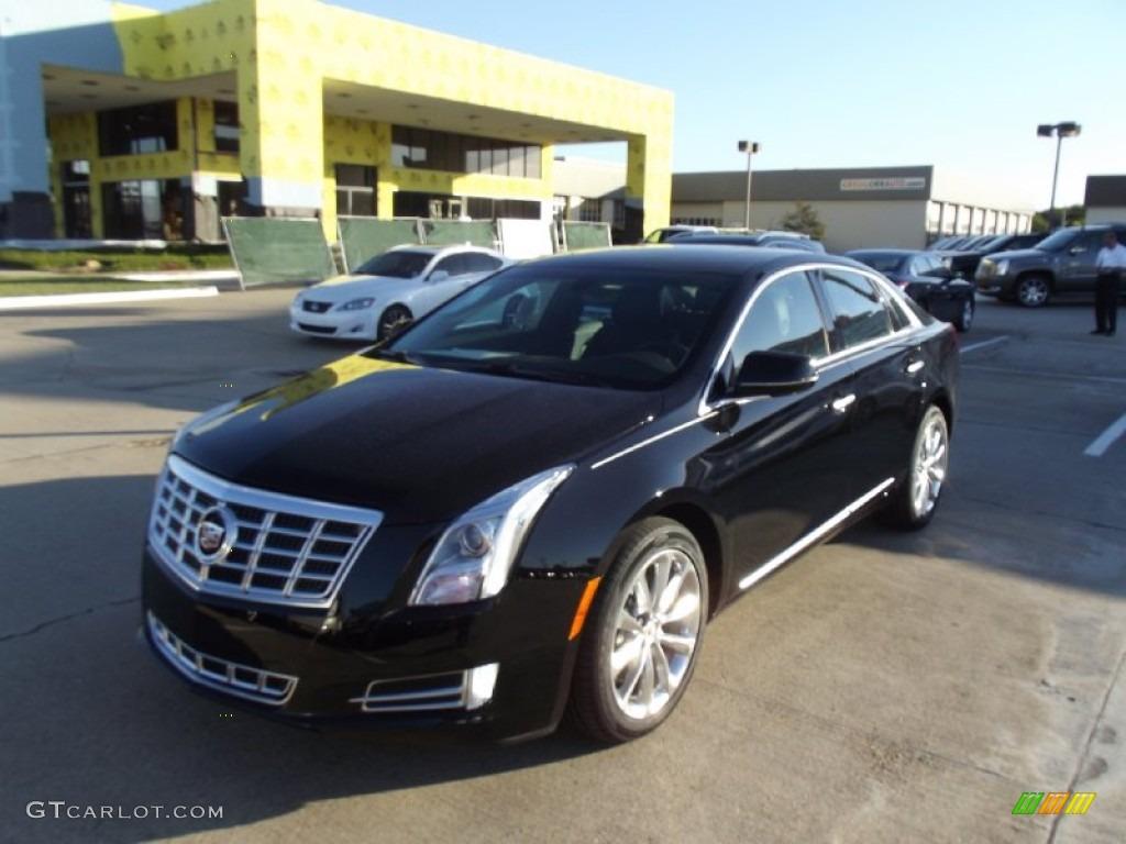 2013 Black Raven Cadillac Xts Luxury Fwd 70687569 Car Color Galleries