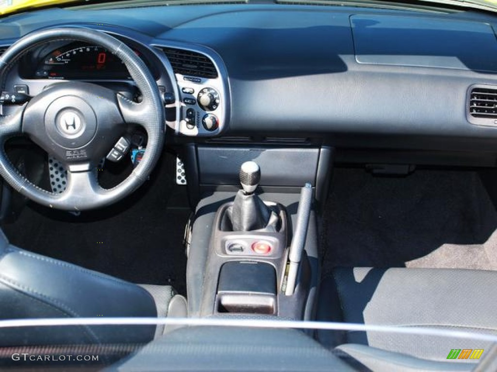 2002 Honda S2000 Roadster Black Dashboard Photo #70715636 | GTCarLot ...
