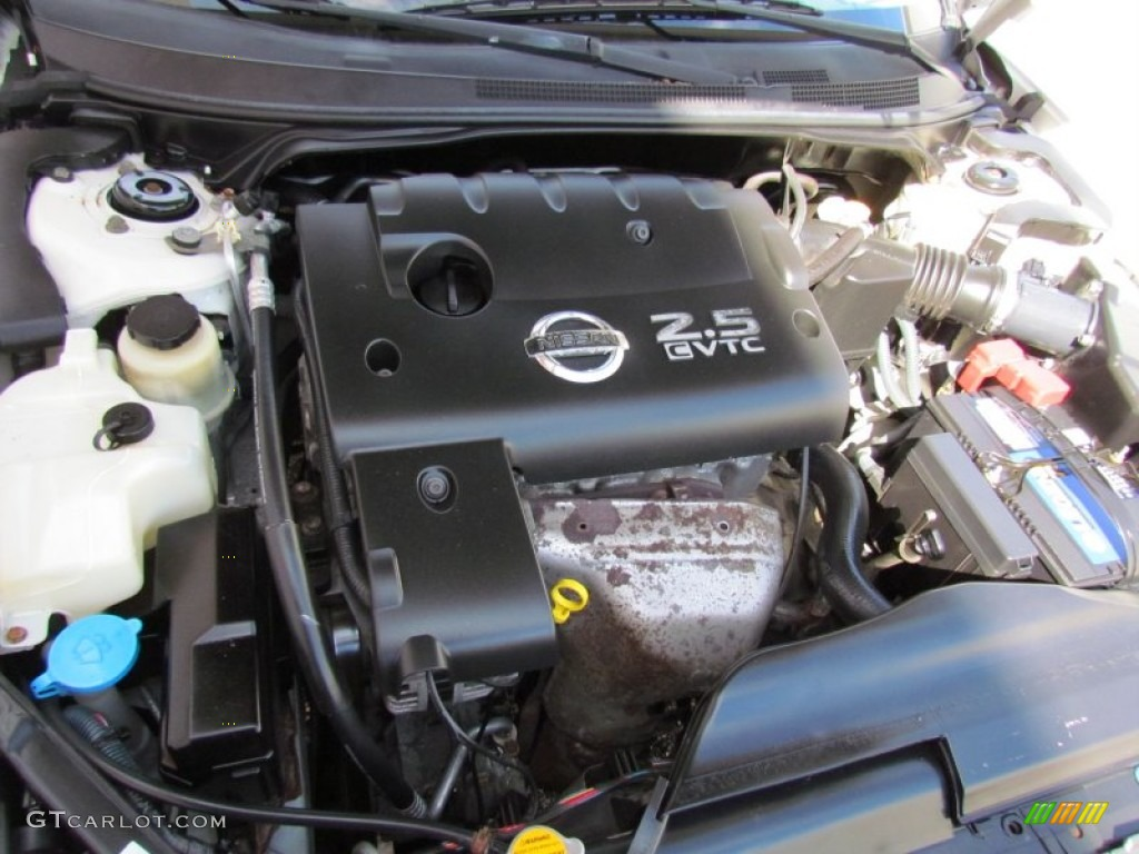 2004 nissan altima 2 5 s 2 5 liter dohc 16v cvtc 4 cylinder engine photo 70728026. Black Bedroom Furniture Sets. Home Design Ideas