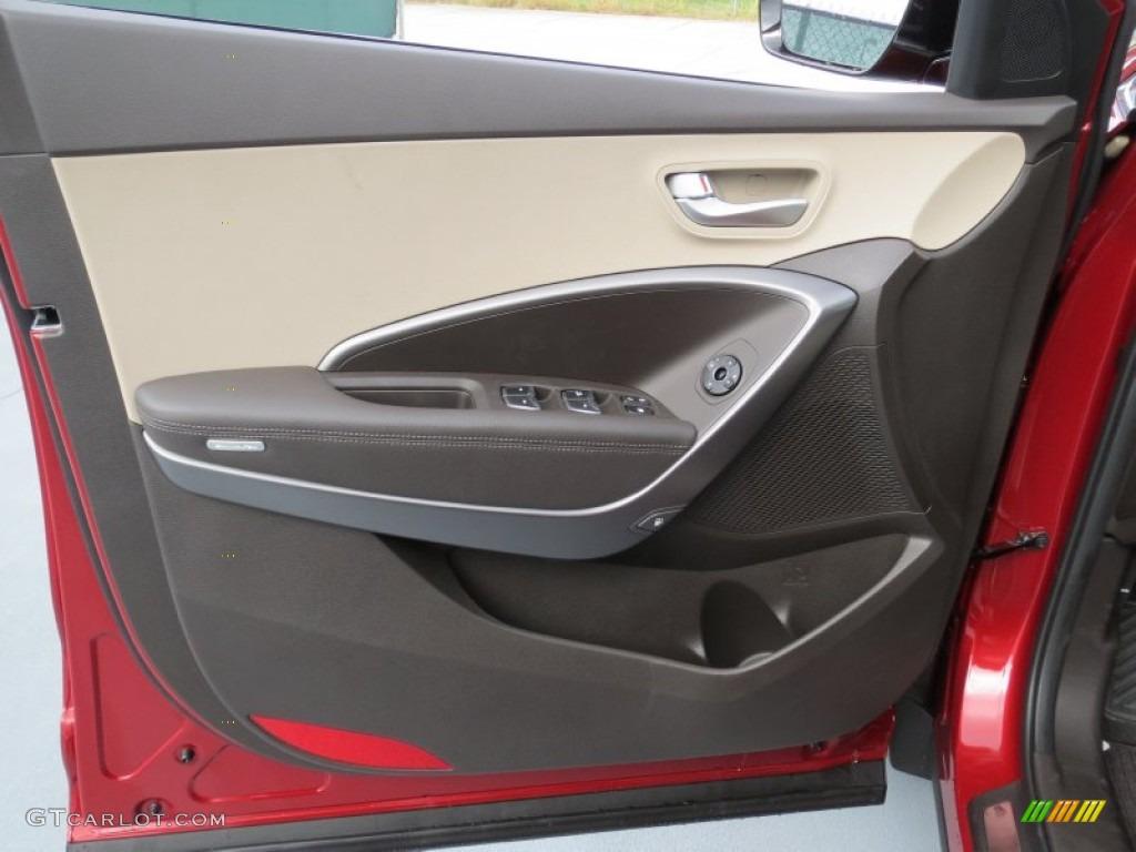 2013 Hyundai Santa Fe Sport 2 0t Beige Door Panel Photo