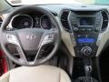 Beige Dashboard Photo for 2013 Hyundai Santa Fe #70731104