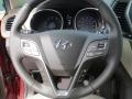 Beige Steering Wheel Photo for 2013 Hyundai Santa Fe #70731170