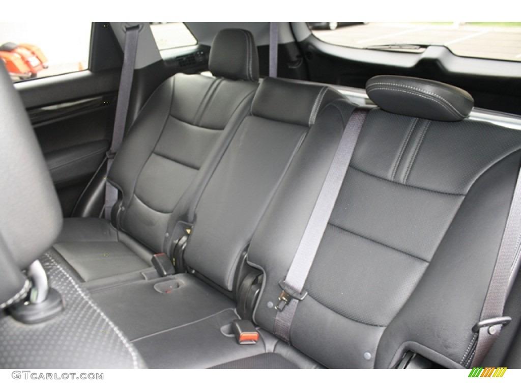 2011 Sorento EX V6 AWD - Bright Silver / Black photo #15