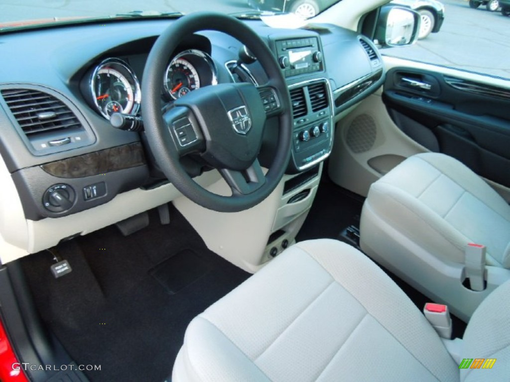 Black Light Graystone Interior 2013 Dodge Grand Caravan American Value Package Photo 70739558