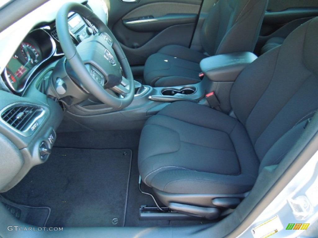 Black Interior 2013 Dodge Dart Sxt Photo 70740563