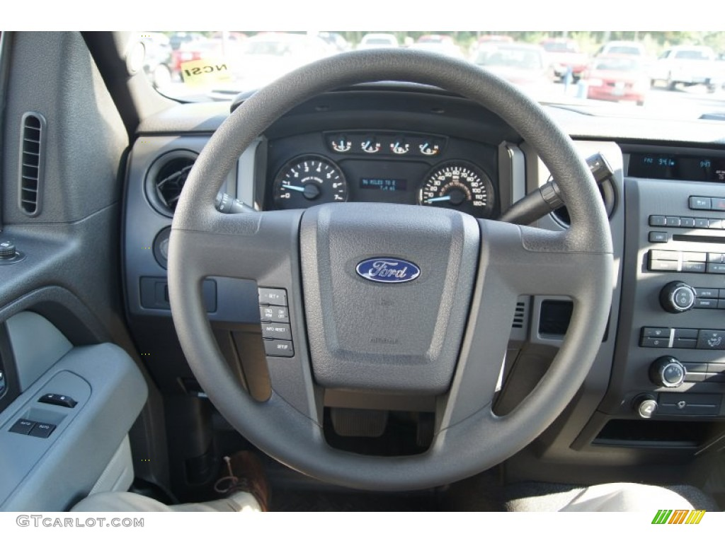 2012 Ford F150 XL Regular Cab Steering Wheel Photos ...