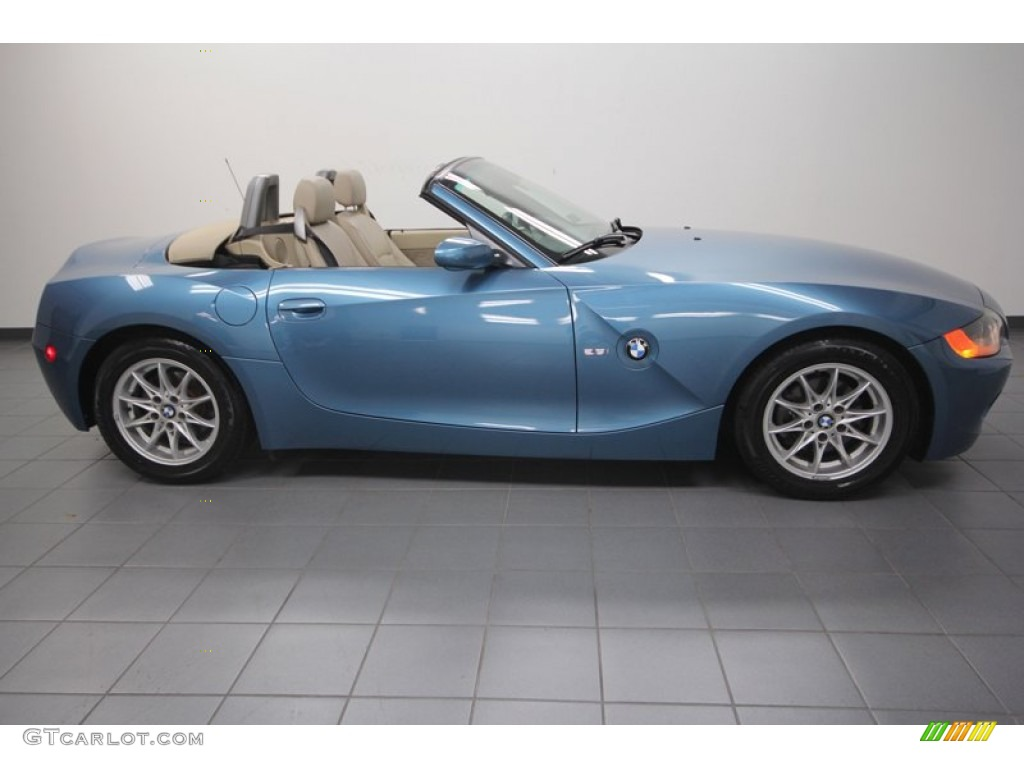 Maldives Blue Metallic 2004 Bmw Z4 2 5i Roadster Exterior Photo 70747905 Gtcarlot Com