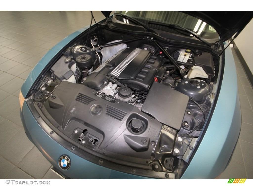 2004 Bmw Z4 2 5i Roadster 2 5 Liter Dohc 24 Valve Inline 6