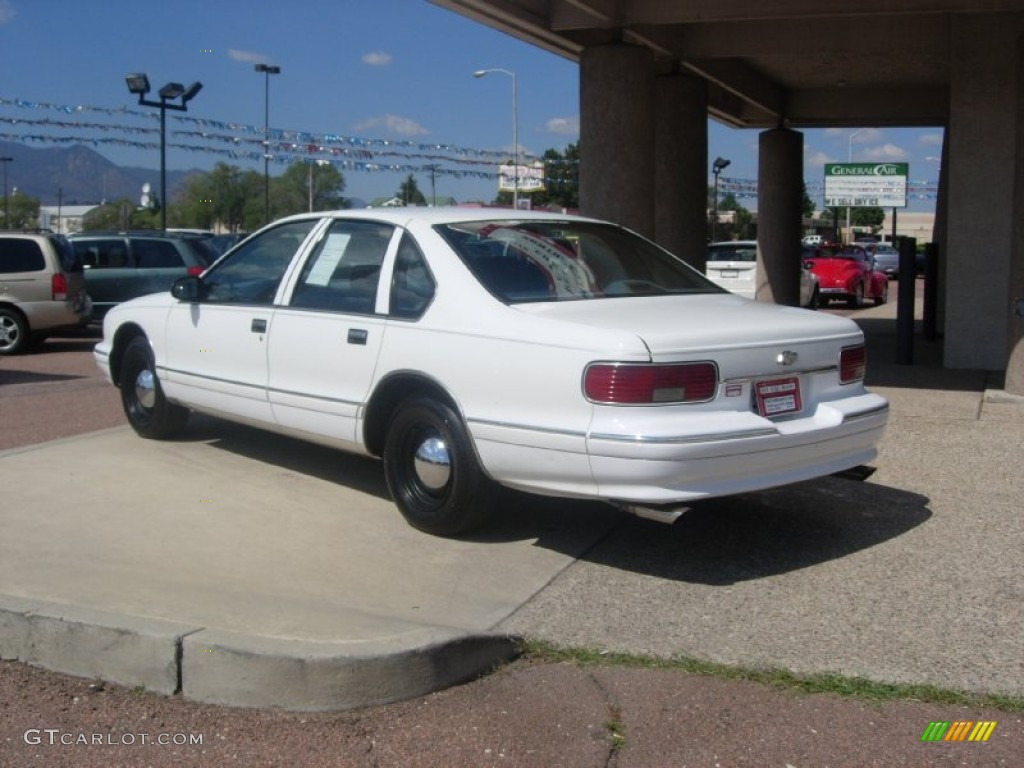 1995 White Chevrolet Impala Ss 70748990 Photo 8
