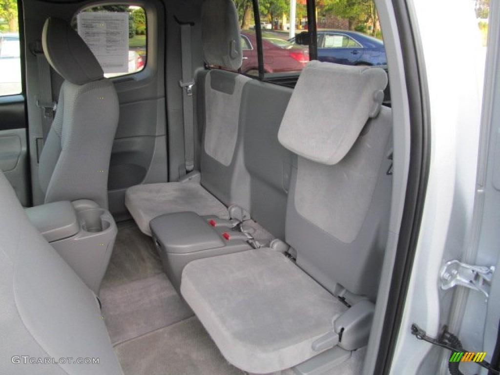 2014 Tacoma Interior Back Seat