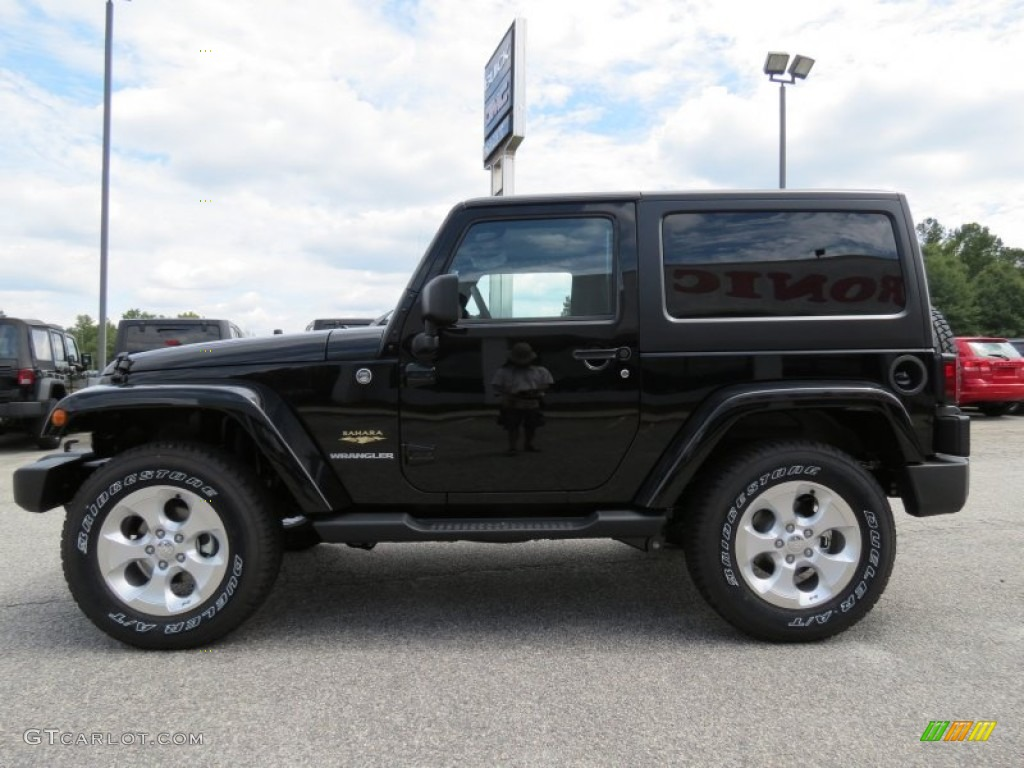 black 2013 jeep wrangler sahara 4x4 exterior photo 70758785. Black Bedroom Furniture Sets. Home Design Ideas
