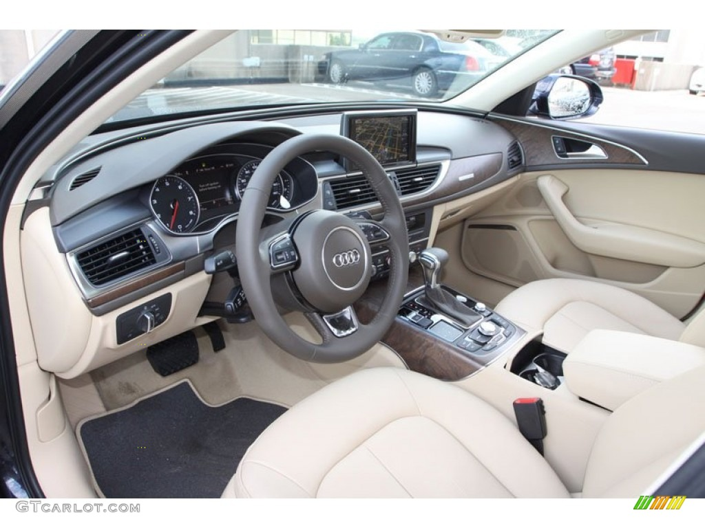 velvet beige interior 2013 audi a6 2 0t quattro sedan photo 70762274. Black Bedroom Furniture Sets. Home Design Ideas