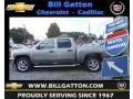 2012 Graystone Metallic Chevrolet Silverado 1500 LT Crew Cab 4x4  photo #1