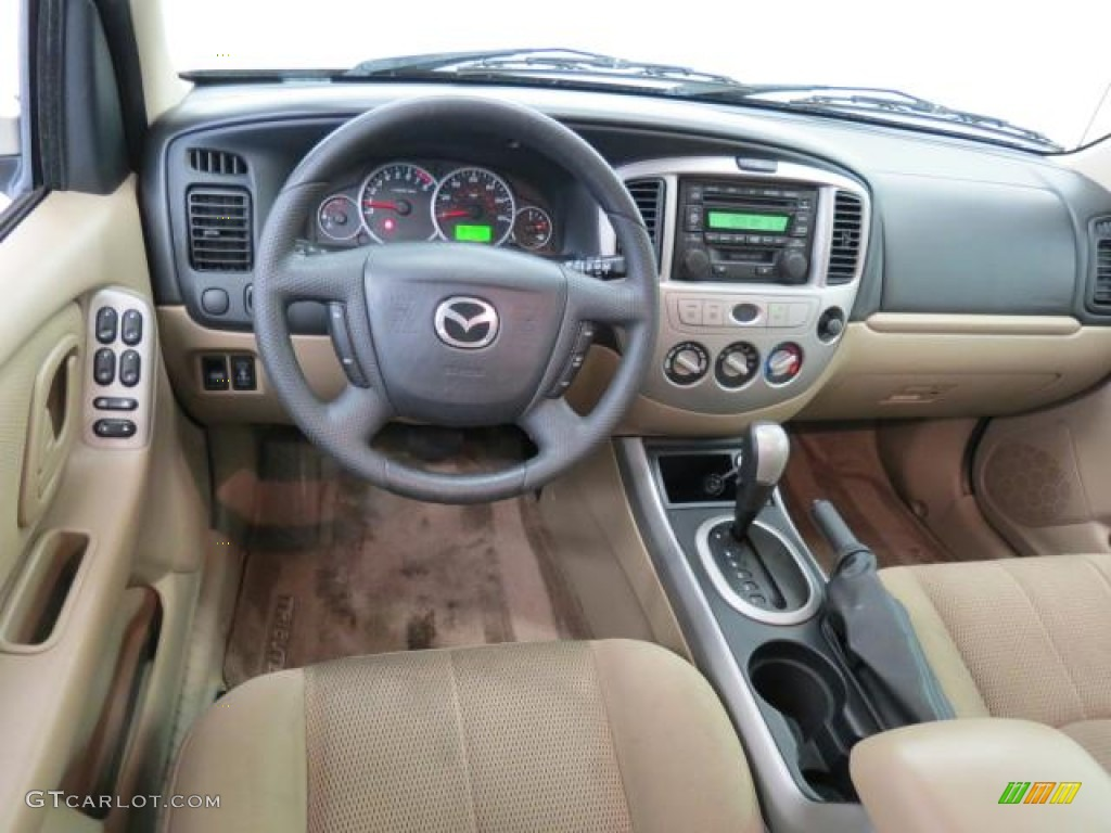 medium pebble beige interior 2005 mazda tribute s photo. Black Bedroom Furniture Sets. Home Design Ideas