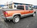 2001 Sunset Orange Metallic Chevrolet Silverado 1500 LS Extended Cab 4x4  photo #21