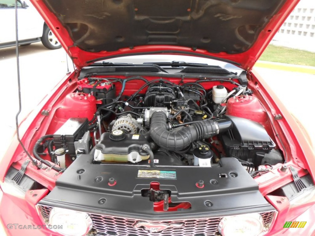 2007 Ford Mustang V6 Premium Convertible 4 0 Liter Sohc 12