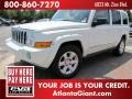 Stone White 2006 Jeep Commander Limited