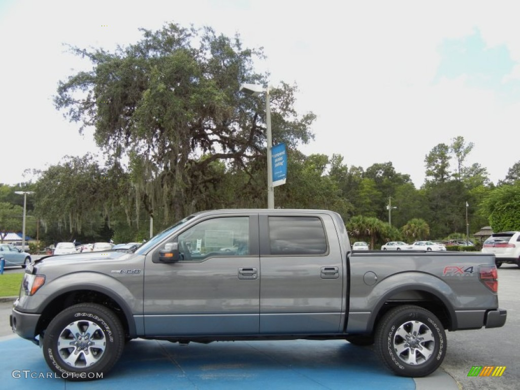 sterling gray metallic 2012 ford f150 fx4 supercrew 4x4 exterior photo 70787825. Black Bedroom Furniture Sets. Home Design Ideas
