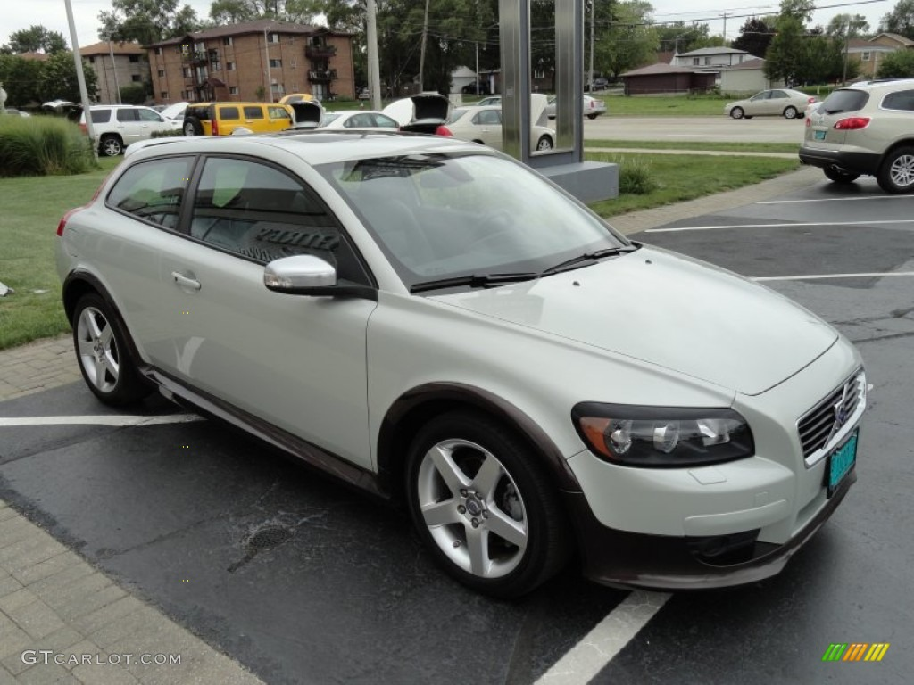 cosmic white metallic 2009 volvo c30 t5 r design exterior photo 70789079. Black Bedroom Furniture Sets. Home Design Ideas