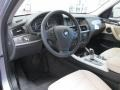 2013 BMW X3 Oyster Interior Prime Interior Photo