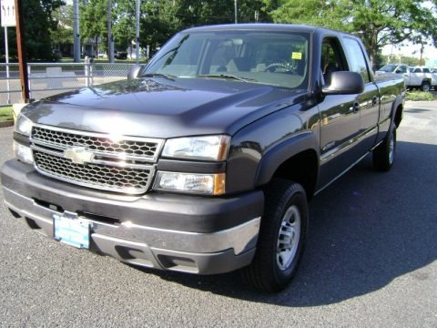 2005 chevrolet silverado 2500hd work truck crew cab data info and specs. Black Bedroom Furniture Sets. Home Design Ideas