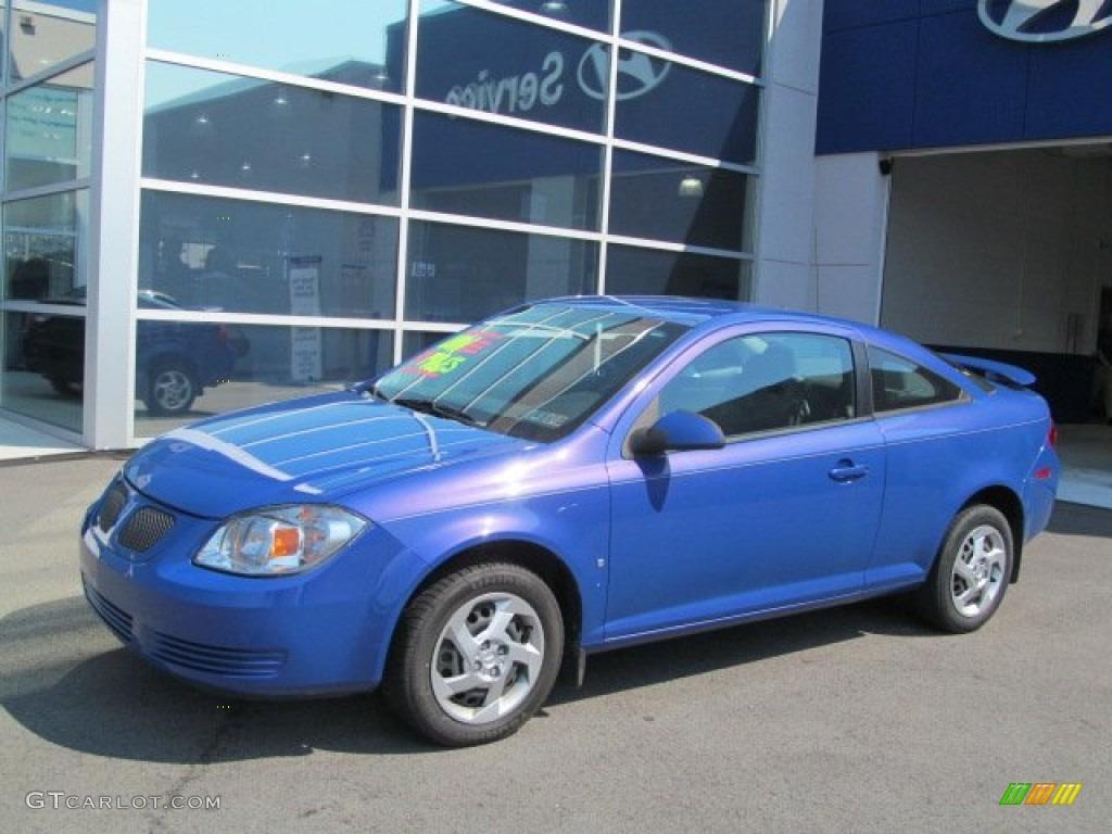 2008 Nitrous Blue Metallic Pontiac G5 70748705 Gtcarlot