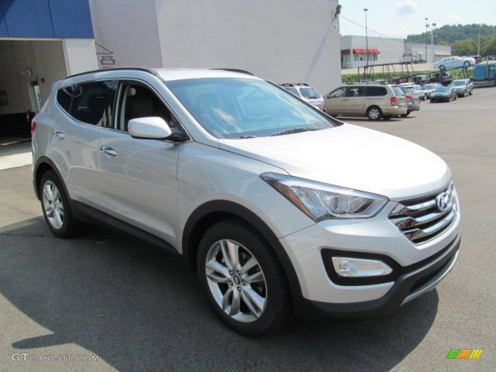 moonstone silver 2013 hyundai santa fe sport 2 0t awd exterior photo 70812167. Black Bedroom Furniture Sets. Home Design Ideas
