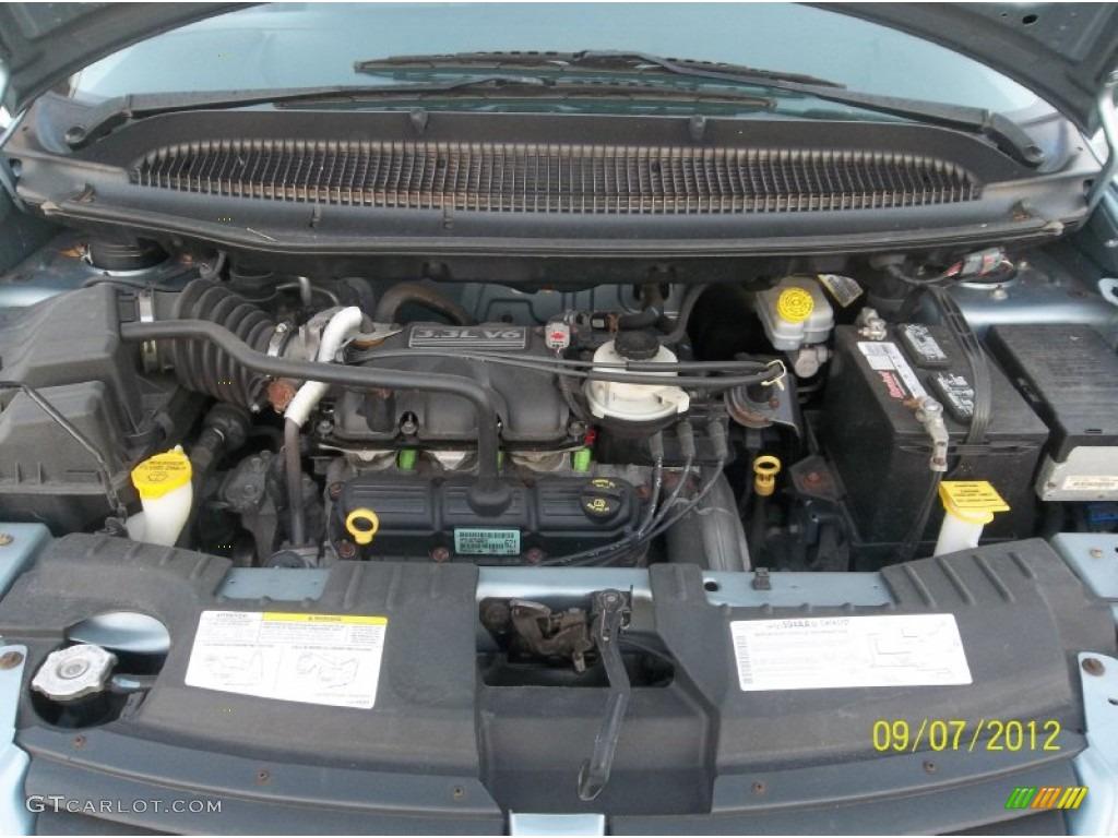 2006 Dodge Grand Caravan Se 3 3l Ohv 12v V6 Engine Photo