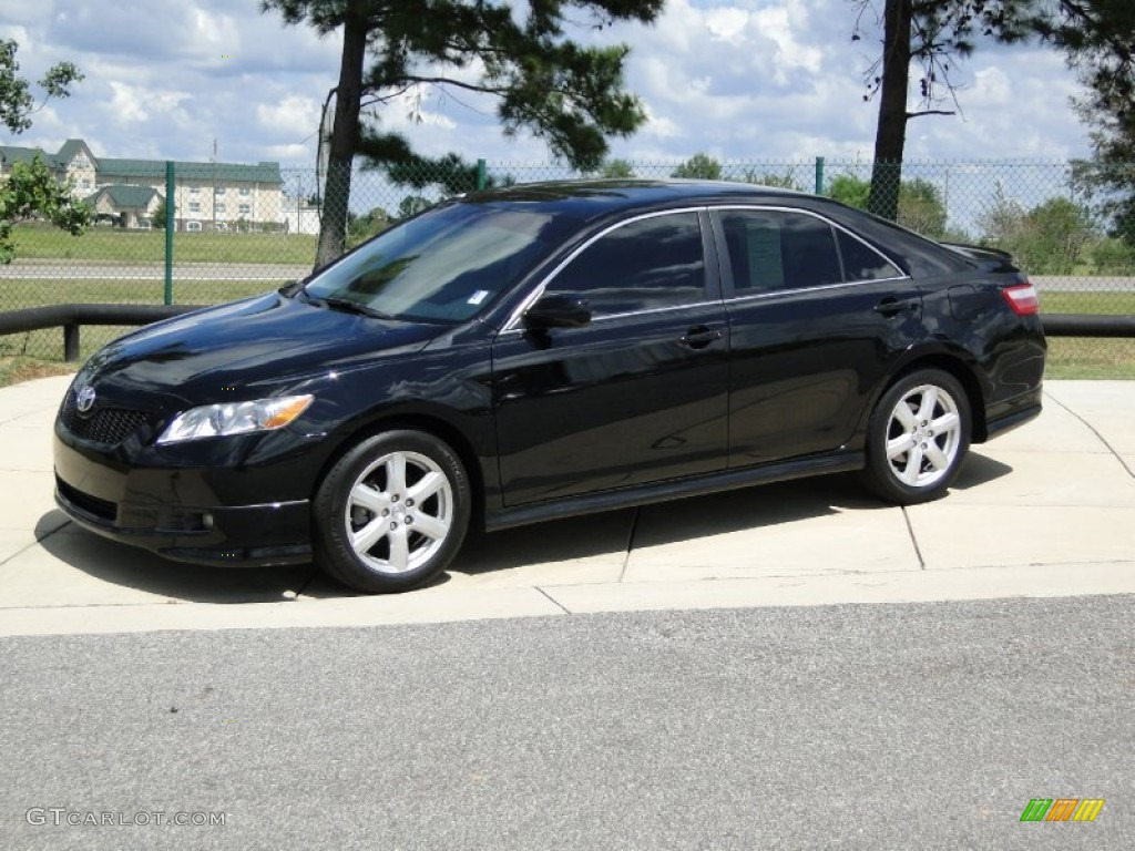 Black 2009 Toyota Camry Se Exterior Photo 70822122