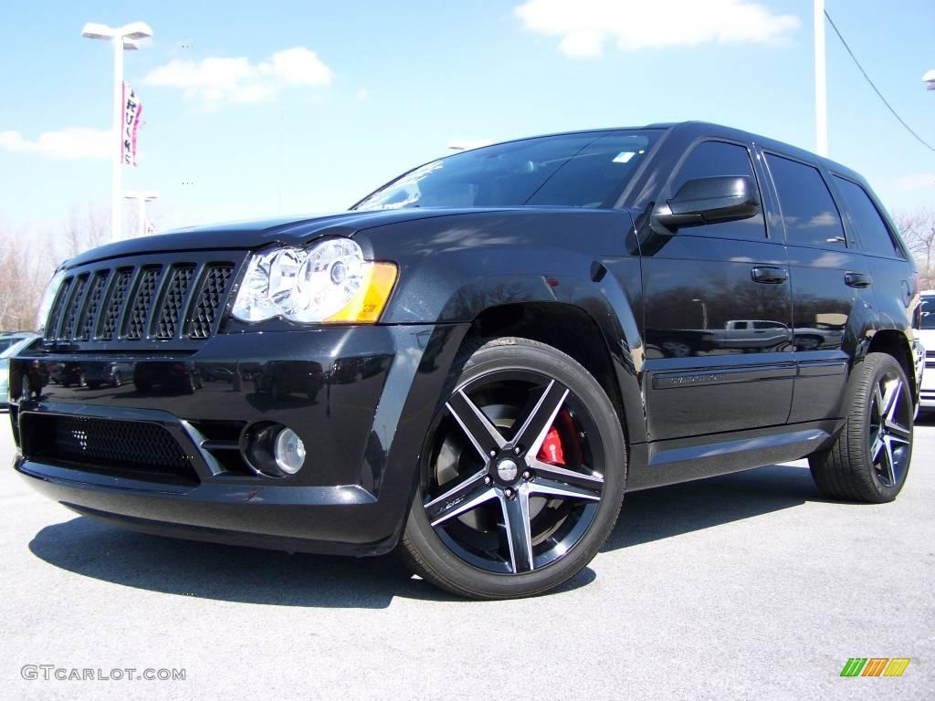 2007 Jeep Cherokee For Sale 2008 Black Jeep Grand Cherokee SRT8 4x4 #7058257 | GTCarLot.com - Car ...