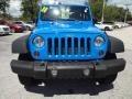 2011 Cosmos Blue Jeep Wrangler Sport 4x4  photo #13