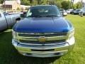 2013 Blue Topaz Metallic Chevrolet Silverado 1500 LT Extended Cab 4x4  photo #2