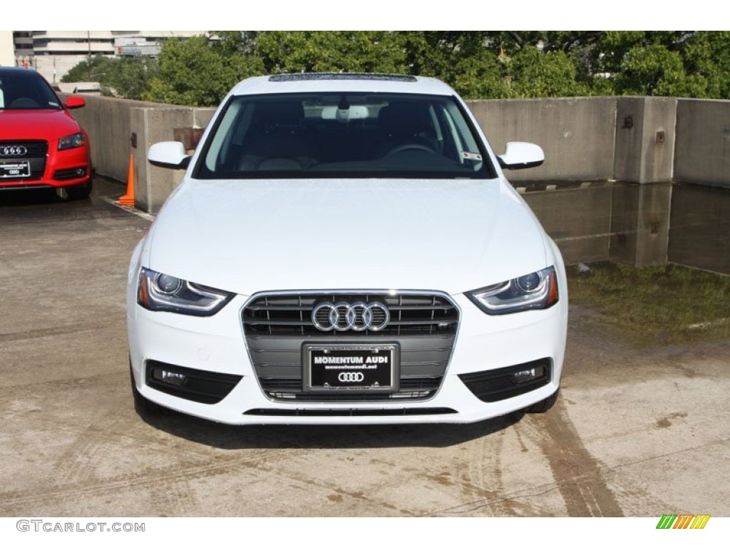 2013 a4 2 0t sedan glacier white metallic black photo 2